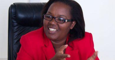 Mukeshimana Geraldine Minisitiri w' ubuhinzi n' ubworozi[photo archieves]