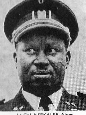 Col.  Nsekarije Aloys [photo archieve]