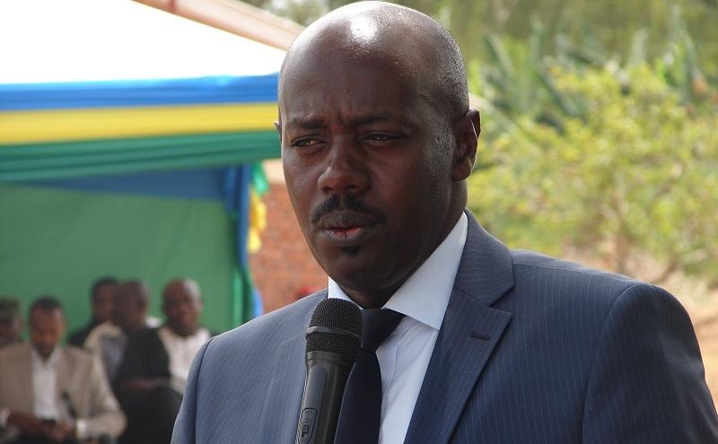 Gasana Meya w' akarere ka Gatsibo mu nzira yo kwegura[photo archieves]