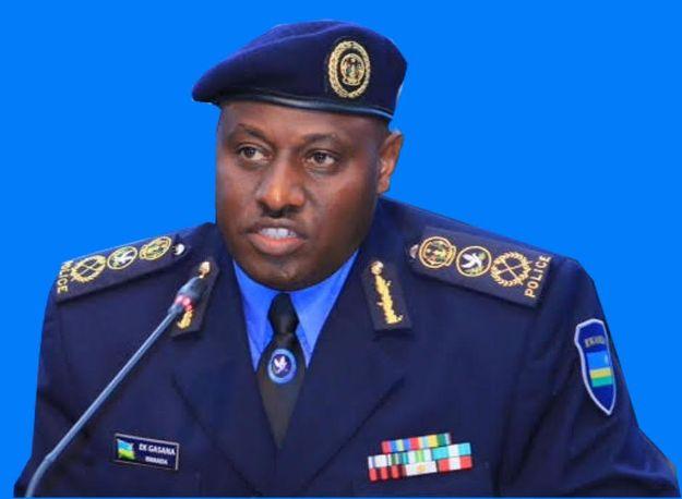Gasana Emmanuel umuyobozi wa Police y' u Rwanda [photo archieves]