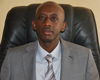 Kaboneka Francis Minisitiri w' ubutegetsi bw' igihugu[photo archieves]