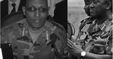 Lt Gen. Karenzi na Gen Maj Jack Nziza[photo archieves]