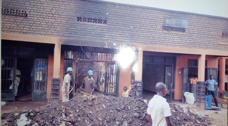 Ngiyo inzu yatwitswe na Ndanyuze [photo archieves]