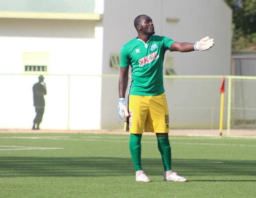 Nyakwigendera Mutuyimana Evariste atabarutse yari umuzamu w' ikipe ya Rayon Sport[photo archieves]