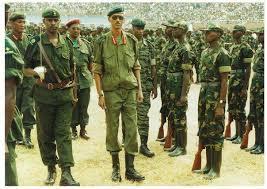 Gen Kagame wayoboye inkotanyi akabohoza u Rwanda[photo archieves]