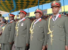 Bamwe mu bayobozi b' inkotanyi babohoje igihugu[photo archieves]