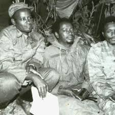 Colonel Ndugute wari umugaba mukuru w' Inkotanyi[photo archieves]