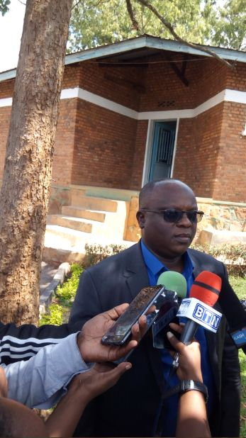 Dr. Baguma Adullah ushinzwe uburezi muri HEC[photo ingenzi]
