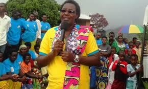 Fortunee Mukagatana umuyobozi w' akarere ka Muhanga wungirije ushinjwe imibereho myiza y'abaturage[photo archieves]