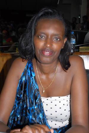 Depite Nyirarukundo Ignatienne ushinjwe ubuhinzi n'ibidukikije[photo archieves]