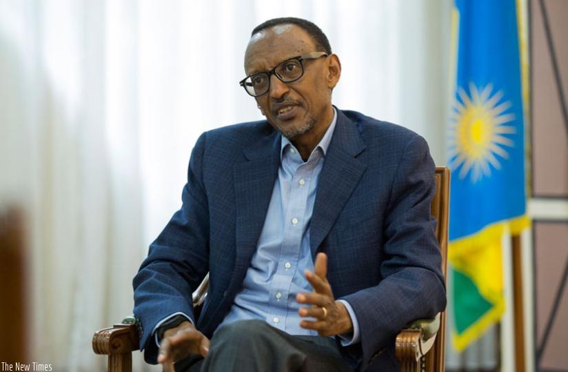 Perezida Kagame igisubizo cy'abanyarwanda[photo archieves]