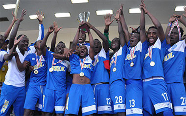 Rayon Sport mu bihe byuje ibyishimo byo kwishimra igikombe[photo arachieves]